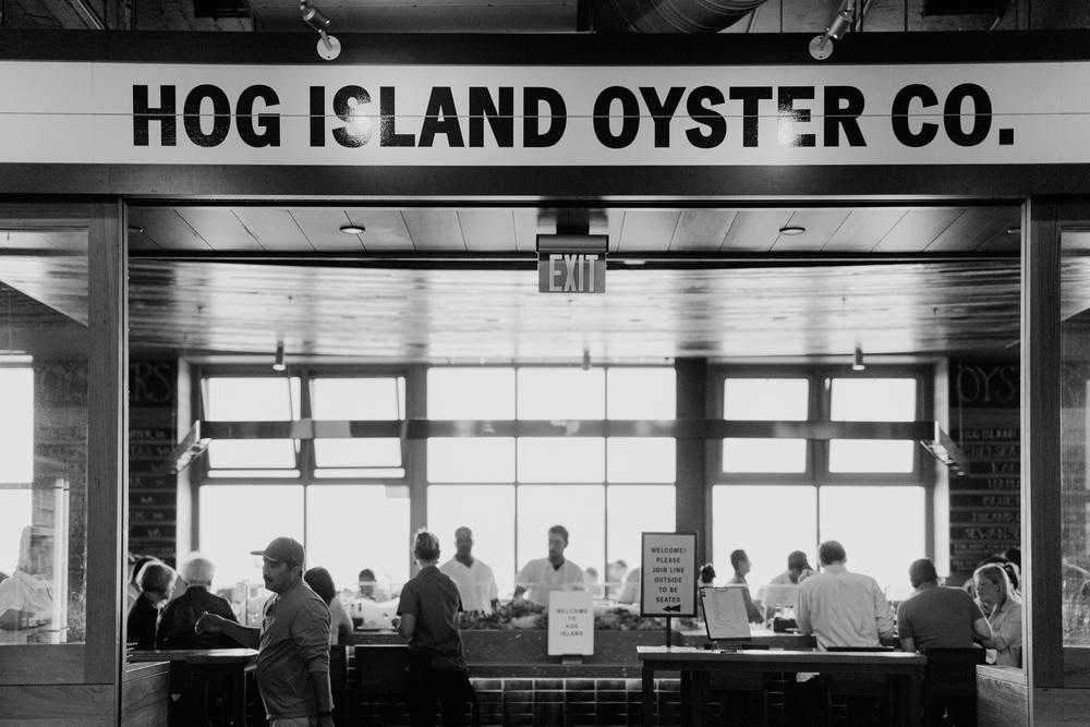 Hog Island Oyster Company (1 Gedung Feri)